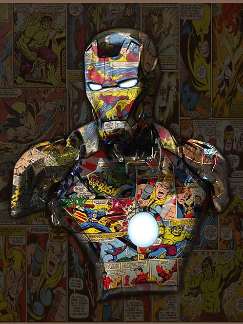 DIRTY HANS - Iron Man Limited Edition Fine Art