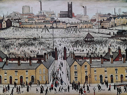 """L.S.Lowry RBA RA -""""Britain at play """"Signed limited edtion"""