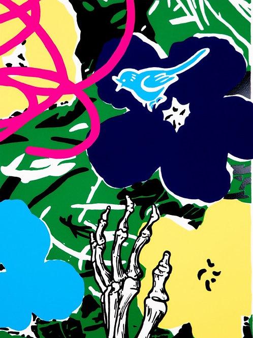 DAN BALDWIN - Infatuation (Green)  - Limited Edition Fine Art