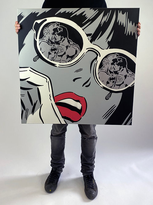 "Rich Simmons - ""Reflections monochrome"" Original"