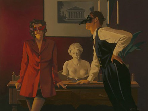 Jack Vettriano-Sparrow and the Hawk  Signed Limited Edition.