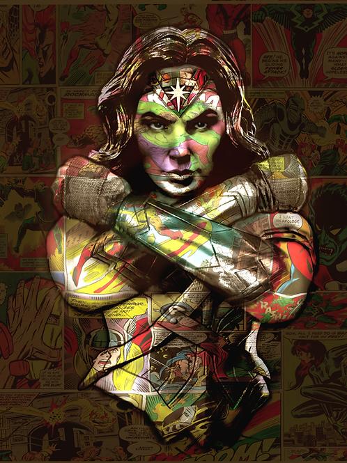 DIRTY HANS - Wonderwoman Limited Edition Fine Art