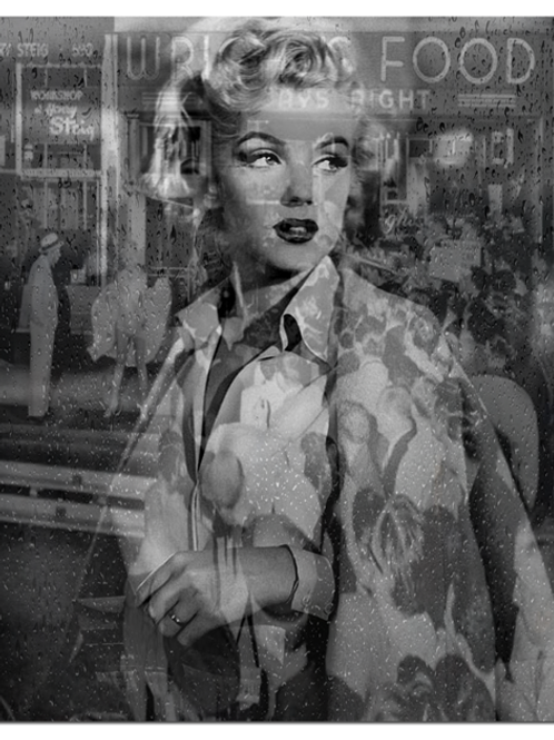 DIRTY HANS - Reflections Marilyn Limited Edition Fine Art
