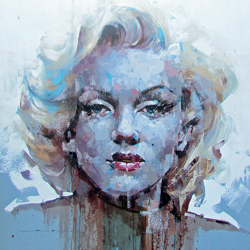 JIMMY LAW - Marilyn - Limited Edition Fine Art Print on Archival Paper.