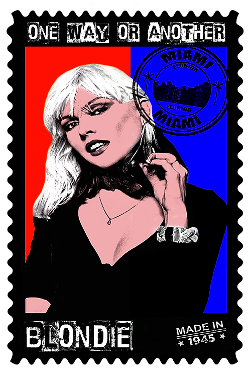 DIRTY HANS - Debbie Harry 1945 Limited Edition Fine Art on paper