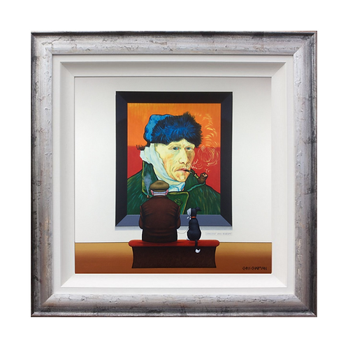 "Chris Chapman ""Vincent van earoff""- Original painting"