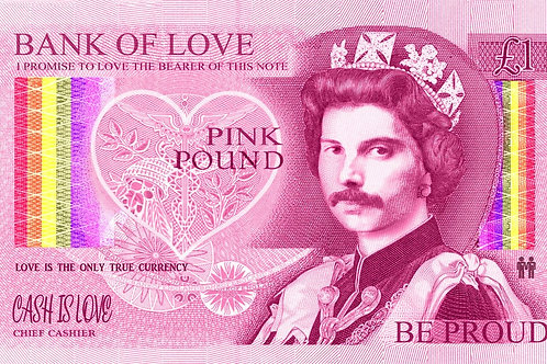 DIRTY HANS - BANK OF LOVE Limited Edition Fine Art on paper