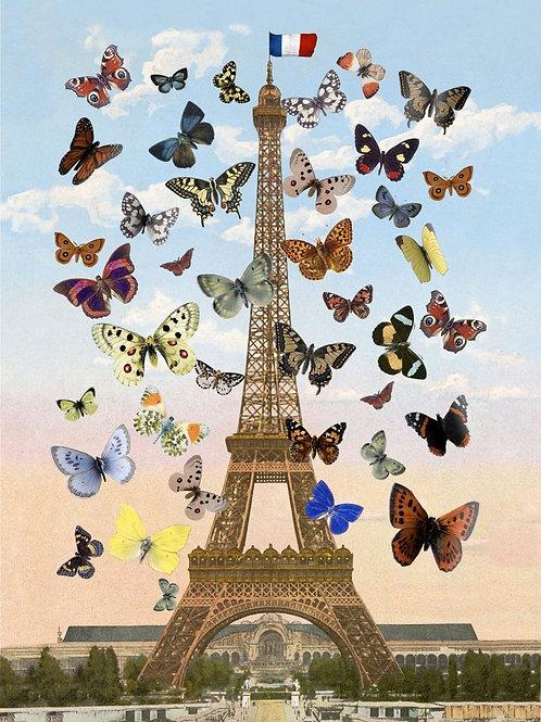 PETER BLAKE - Eiffel Tower (small lenticular) - Limited Edition Fine Art