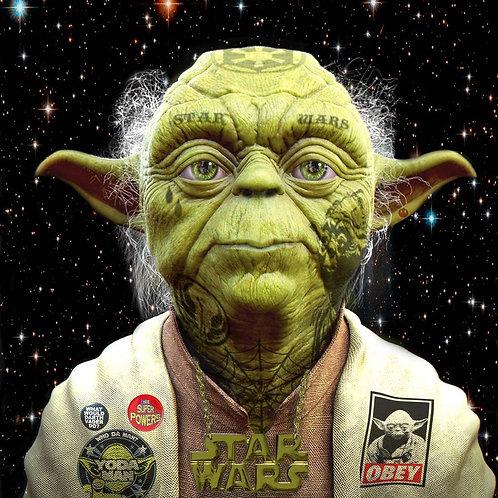 DIRTY HANS - Yoda Limited Edition Fine Art