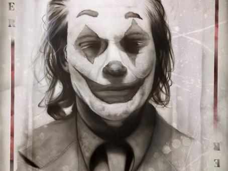 Halloween is here ..Joker lands from Andy Caddick!