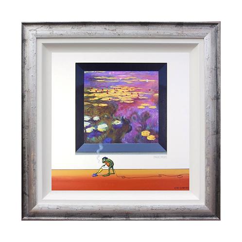 """Chris Chapman """"Monsieur Dyson""""- Original painting."""