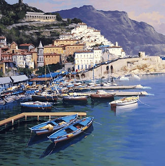 Artist-Antonio-Iannicelli-The-Amalfi-Coa