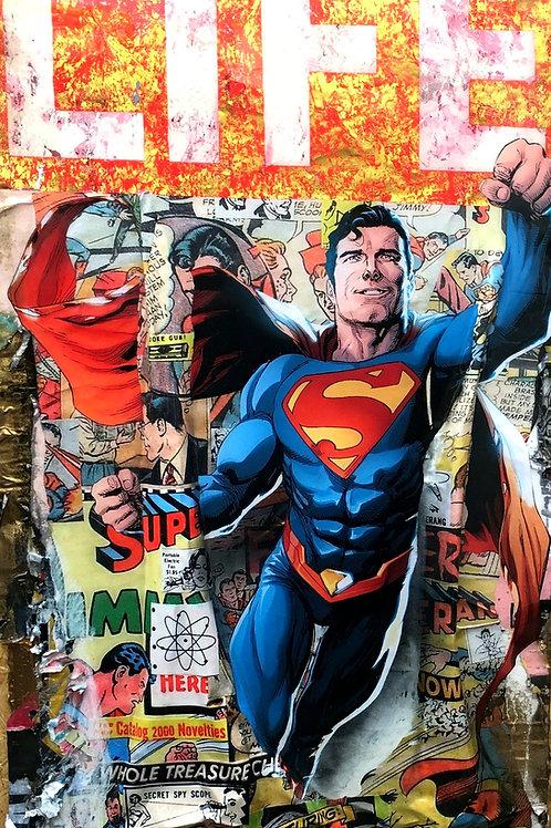 Bram Reijnders What If Life Superman Original.