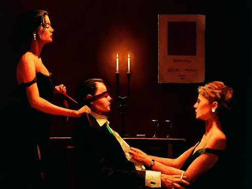 Jack Vettriano-Wicked Games  Signed Limited Edition.