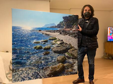 Monster commission lands in U.K waters from Marc Esteve.