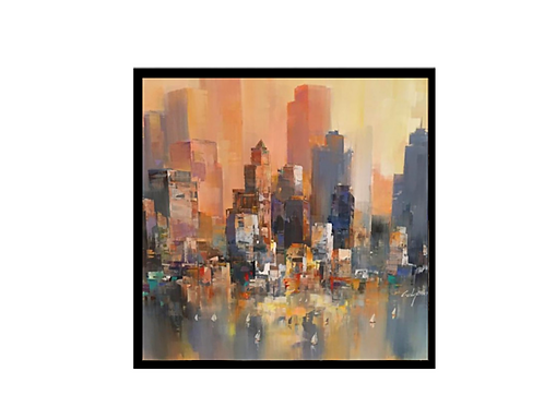 Wilfred Lang Sound of the city 1 -Original