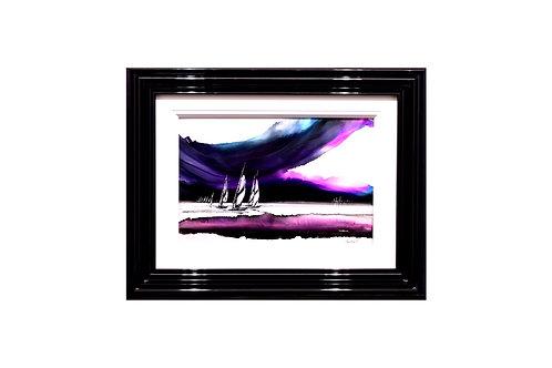 Louise Schofield Turbulent Skies 1- Original painting