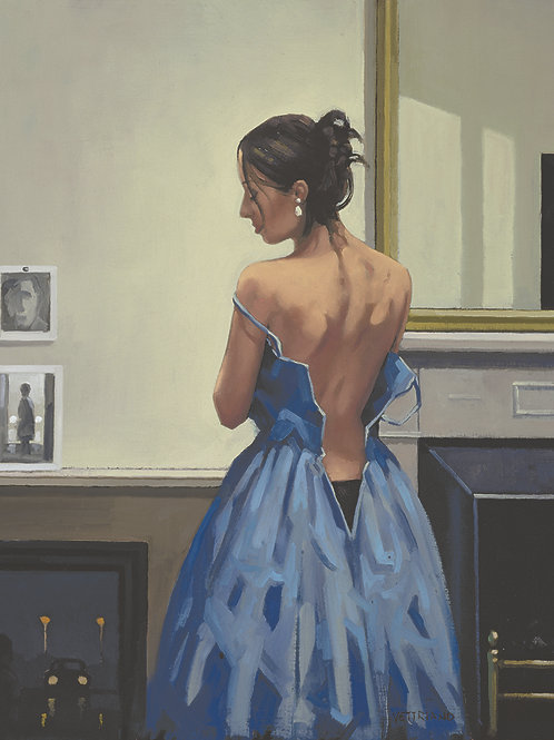 Jack Vettriano- Blue Gown Limited Edition
