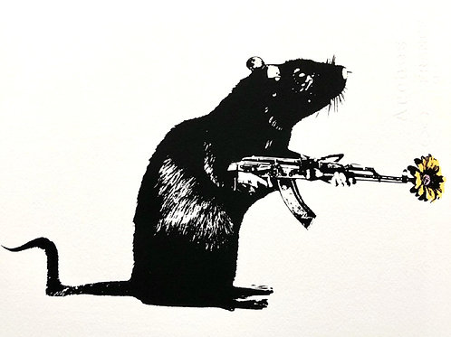 BLEK LE RAT - The Warrior special yellow edition - Limited Edition