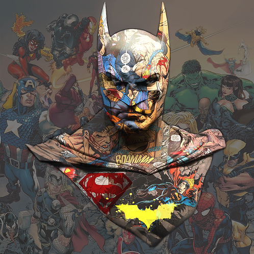 DIRTY HANS - Batman The Killing Limited Edition Fine Art