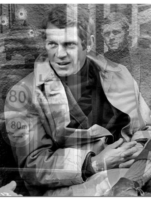 DIRTY HANS - Reflections Steve Mc Queen Limited Edition Fine Art