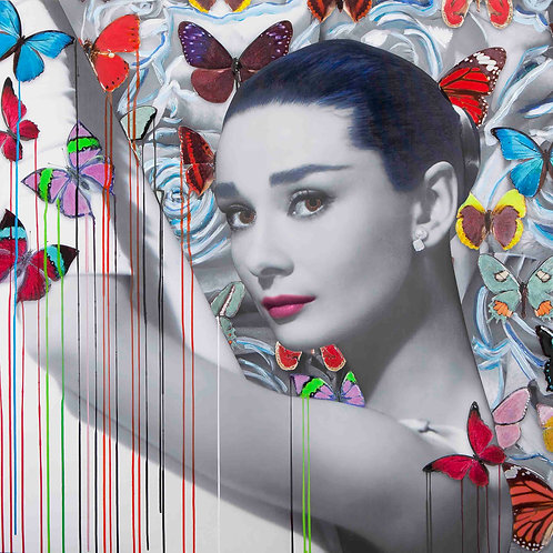 CHLOE ROX - Audrey The Beauty Within- Limited Edition Fine Art
