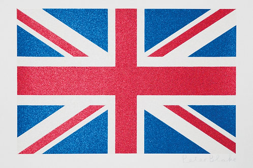 PETER BLAKE - Union Flag (small)- Limited Edition Fine Art