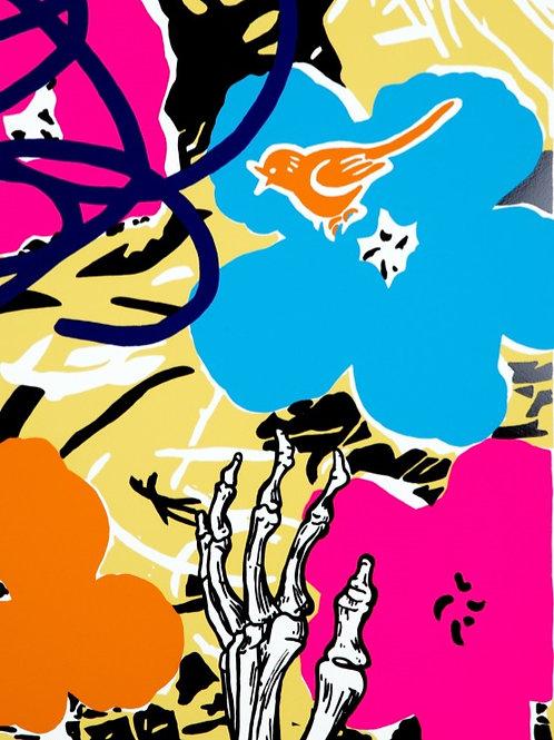 DAN BALDWIN - Infatuation (Yellow)  - Limited Edition Fine Art