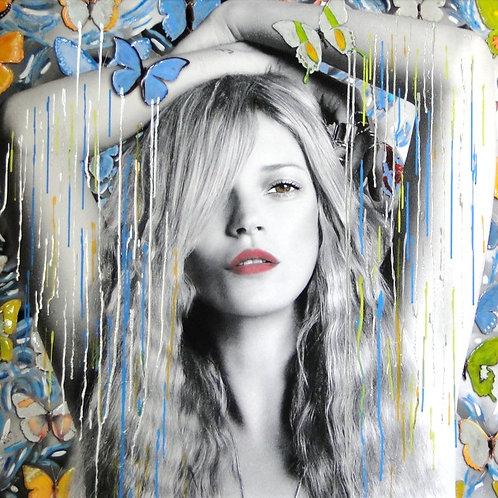 CHLOE ROX - Kate the Beauty Within  - Original Fine Art