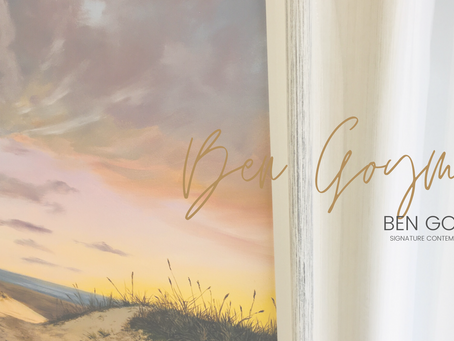 Soft..chic and dreamy elegant on trend...-Ben Goymour Seascapes