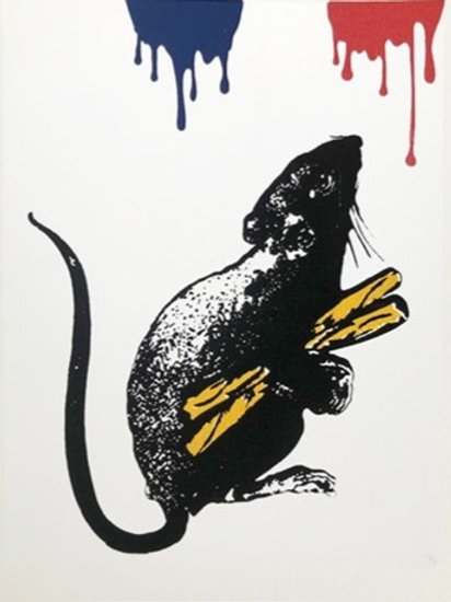 BLEK LE RAT - Rat N°5 - Limited Edition Fine Art
