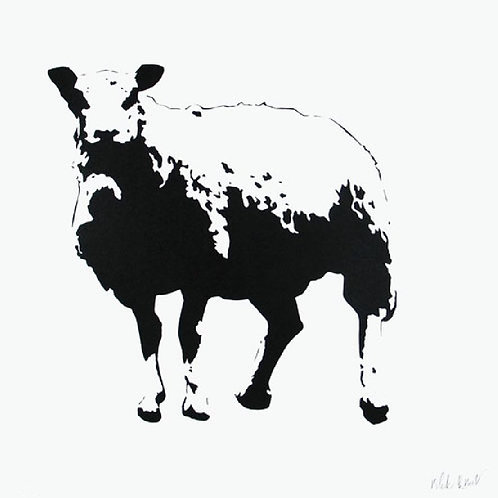 BLEK LE RAT - The Sheep Artist Proof - Limited Edition Fine Art