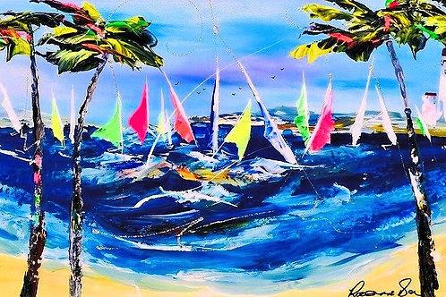"""Rozanne Bell -""""Nautica """" Original"""