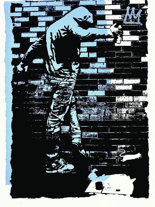 BLEK LE RAT - King of Chicago – Artist Proof - Limited Edition Fine Art