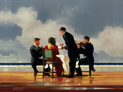 Jack Vettriano-Elegy for a dead admiral  Signed Limited Edition.