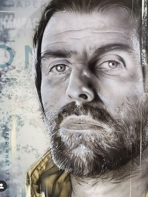 "Andy Caddick - ""As you were"" Liam Gallagher - Original"