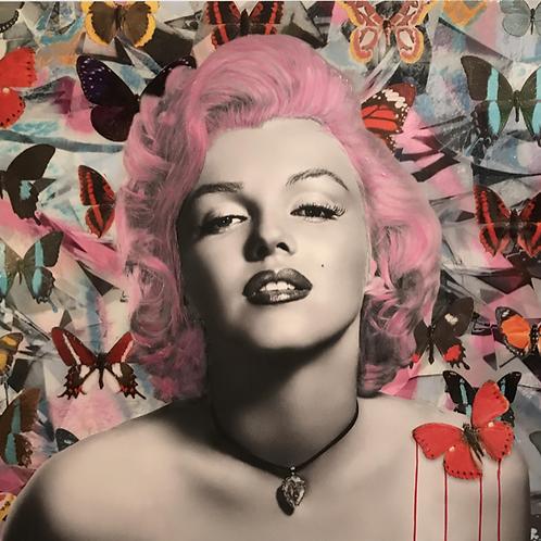 CHLOE ROX - The Beauty within Marilyn Monroe - Original Fine Art
