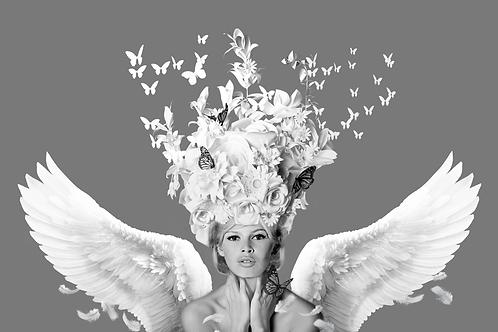 DIRTY HANS - Bridget flight of fantasy Limited Edition Fine Art on paper