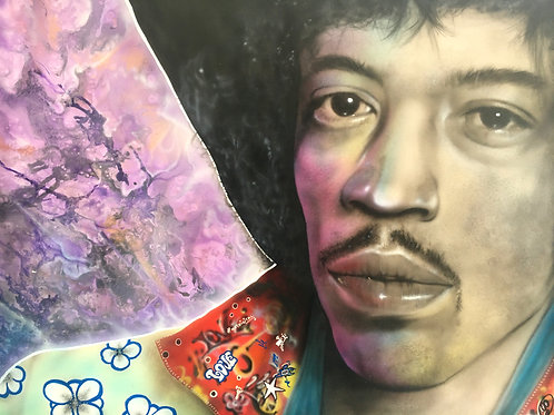 "Andy Caddick - ""Jimi""   -Original"