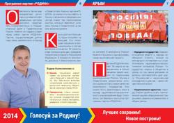 Предвыборная программа