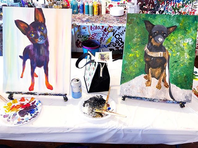 Sundays are for painting your pets