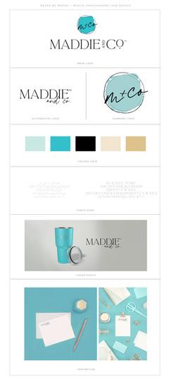 Maddie & Co Brand Board