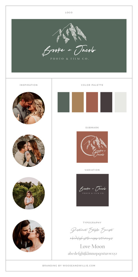 Brooke & Jacob Brand Board