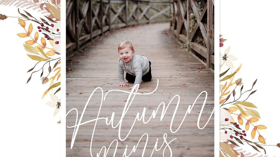 Fall Mini Sessions - October 26