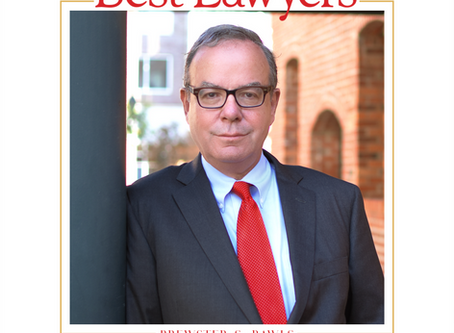 Brewster Rawls Named to the 2021 Edition of The Best Lawyers in America©