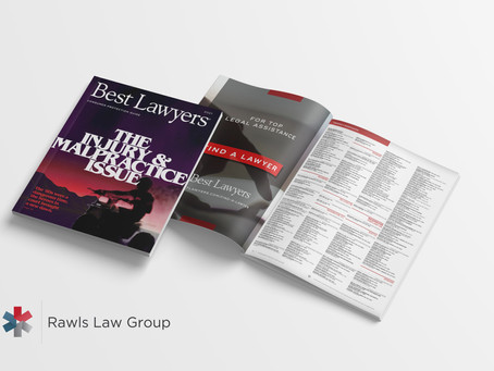 Rawls Law Group Named in 2021 Best Lawyers: The Injury & Malpractice Issue