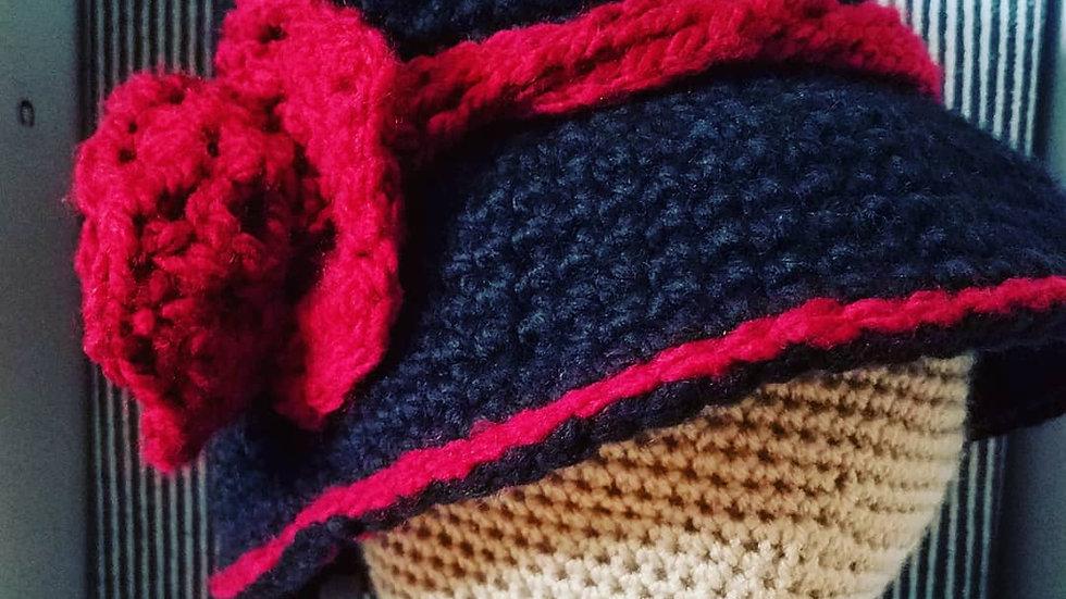 Rose Cloche Hat