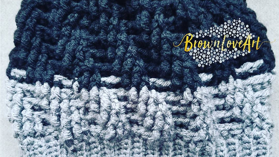 Spiral Cable Beanie - adult