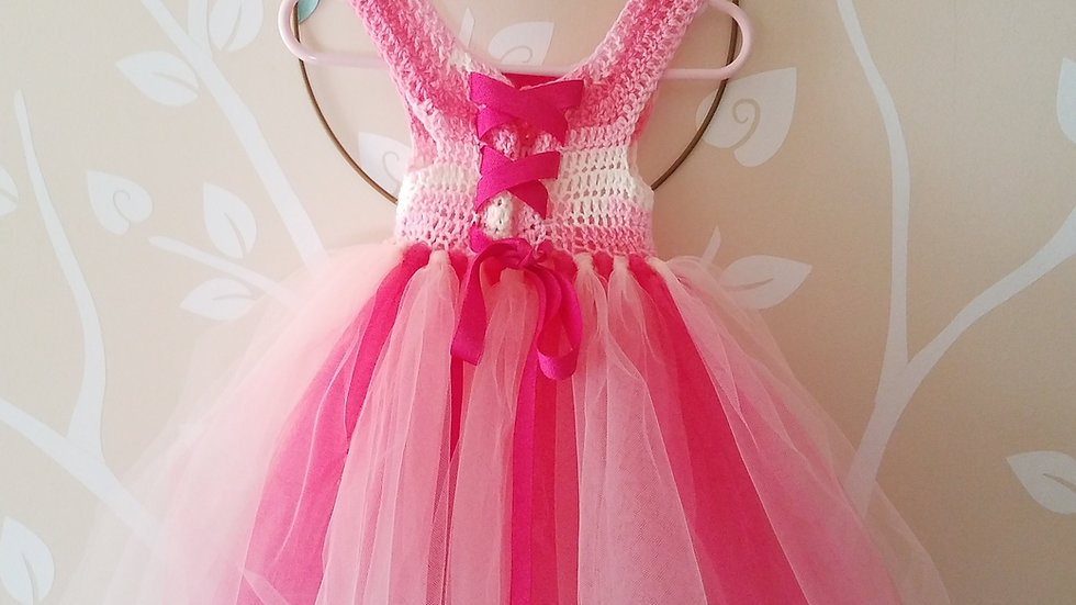Pink Blush Fluff Dress