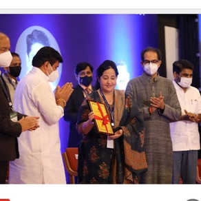 Hon' ble Vice-Chairperson felicitated with ISTE Best Clean & Green Campus Award for the year 2020.